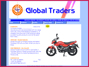 Global Traders Website