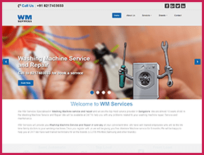 WM Services Website